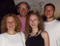 Helen with her family