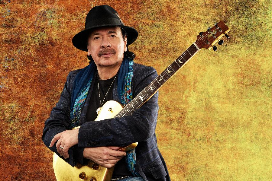 Carlos Santana Brings Hope, Courage And Joy To A World 'Infected With Fear'