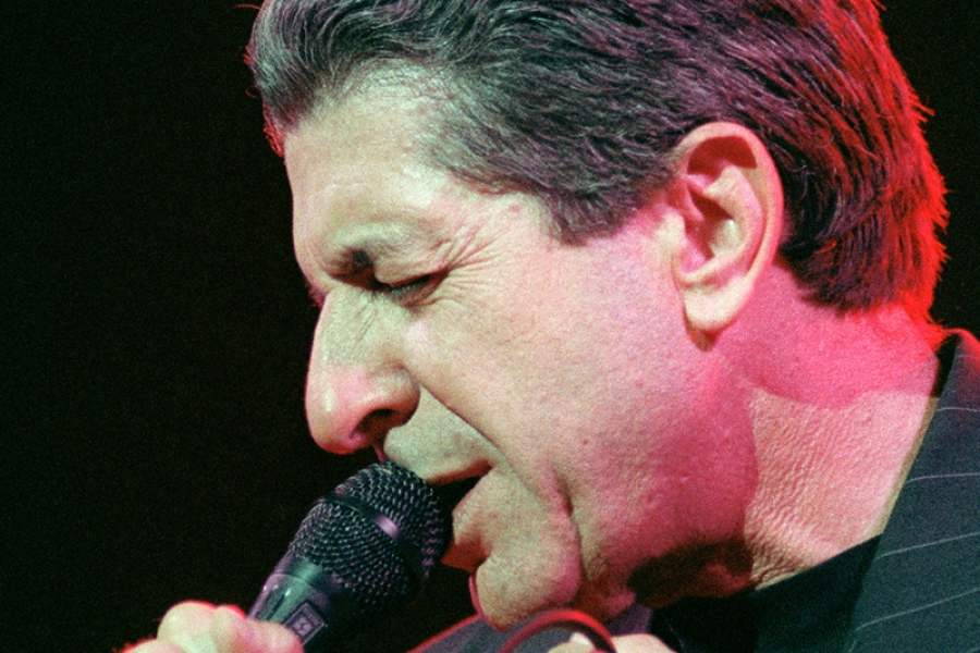 World Cafe: Backstage With Leonard Cohen In 1993