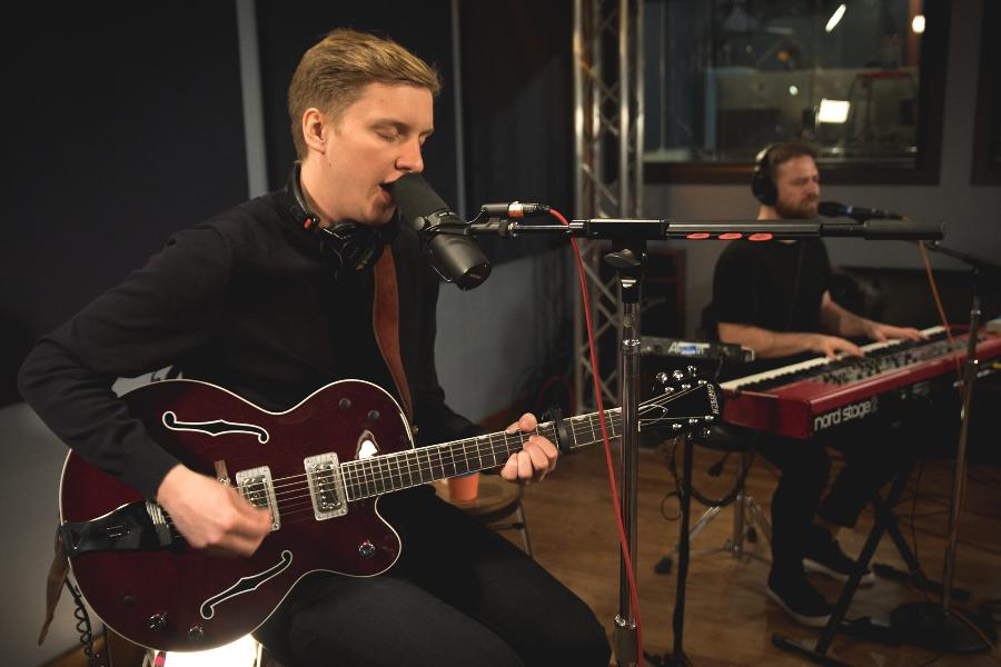 George Ezra On World Cafe