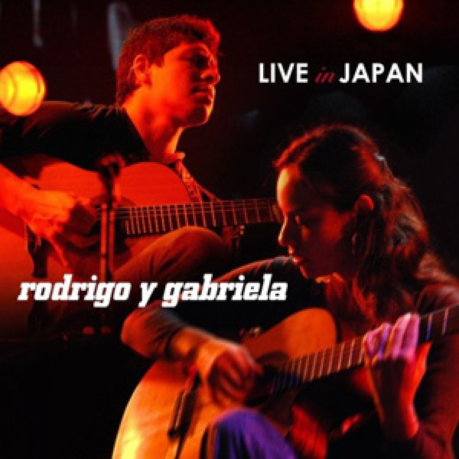 Rodrigo Y Gabriela - Live in Japan - Ato Records / Red