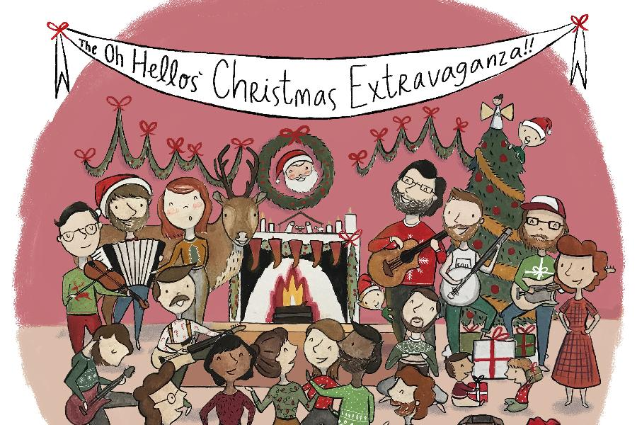 The Oh Hellos' Christmas Extravaganza On World Cafe