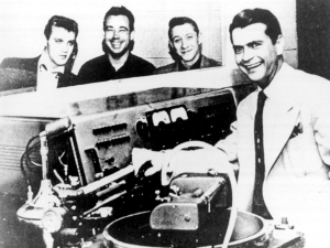 Sam Phillips, 4th from left