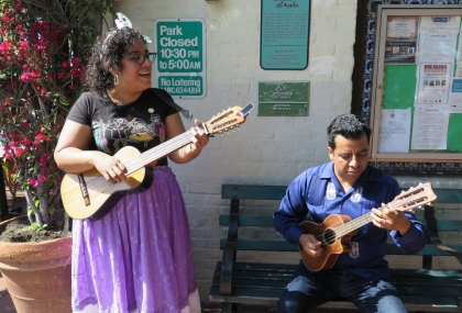Take A Walk Down The Oldest Street In LA With La Santa Cecilia